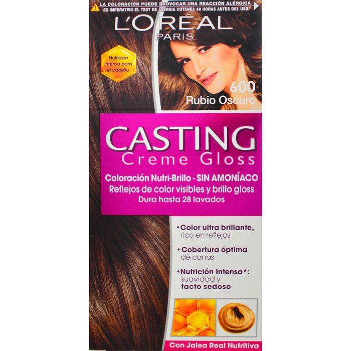Coloración Casting Creme Gloss Rubio Oscuro 600 Devotoweb