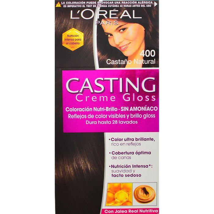 Coloracion-CASTING-Creme-Gloss-Castaño-400