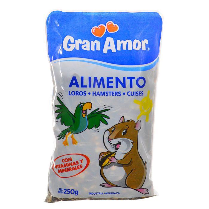 Alimento-para-loros-y-hamsteres-GRAN-AMOR-250-g