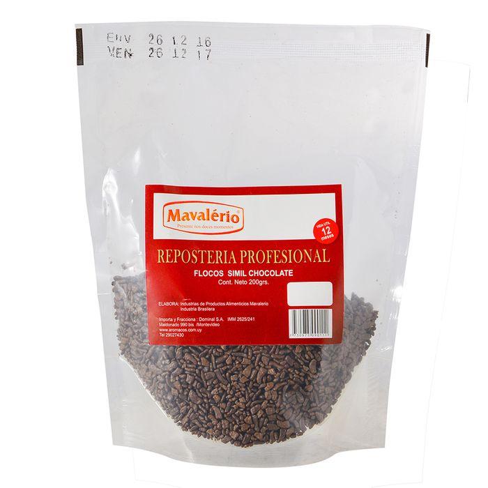 Flocos-Chocolate-MAVALERIO-200-g