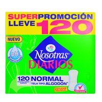 Protector-Diario-NOSOTRAS-Normal-Premiun-cj.-120-un.