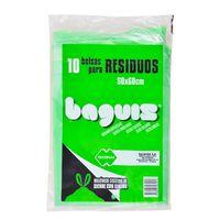 Bolsa-Residuo-BAGUIS-Verde-con-Cinta-50x60-bl.-10-un.