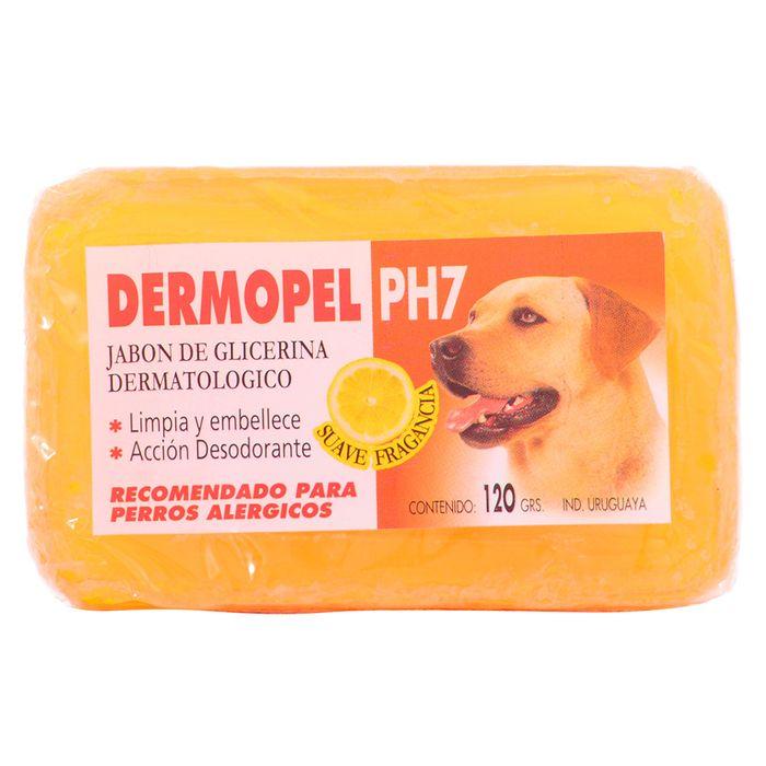 Jabon-para-Perros-Dermopel-Ph7-Glicerina-120-g