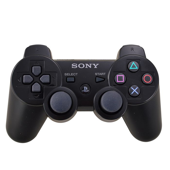 Joystick-inalambrico-SONY-para-PS3-dual-shock-black