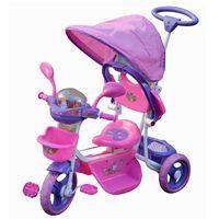 Triciclo-con-guia-rosa---toldo-apoya-pies-y-sonidos
