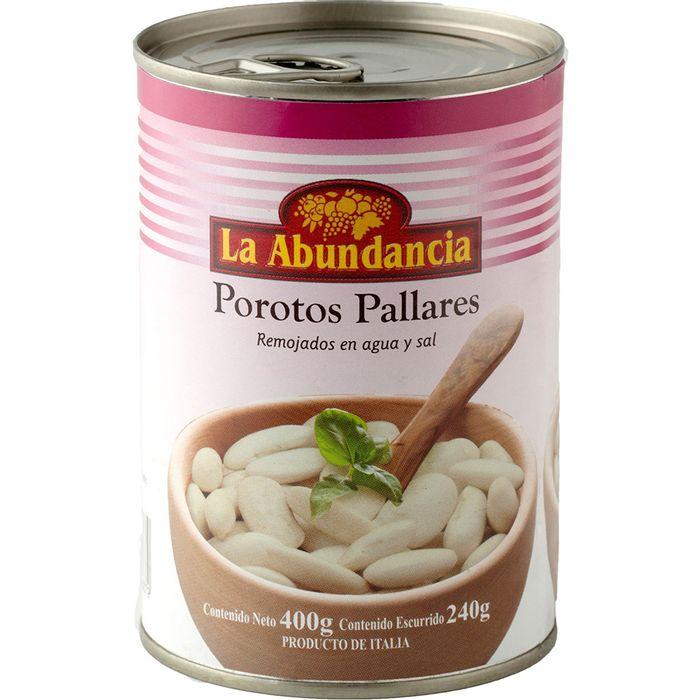 Porotos-pallares-LA-ABUNDANCIA-lata-400-g