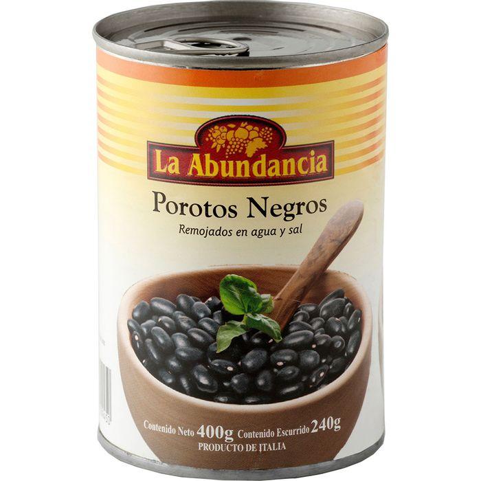 Porotos-negros-LA-ABUNDANCIA-lata-400-g