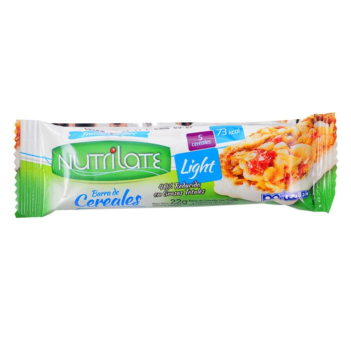 Barrita-Cereal-NUTRILATE-Light-Frutrilla-y-Yogur-22g
