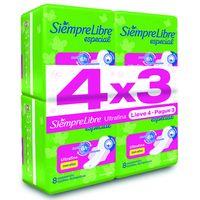 Pack-4x3-Toalla-Femenina-SIEMPRE-LIBRE-Ultrafina-8-un.