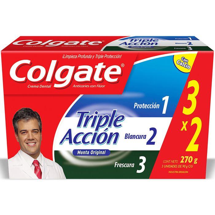 Pack-x-3-crema-dental-COLGATE-Triple-Accion-90-g-con-20--de-descuento