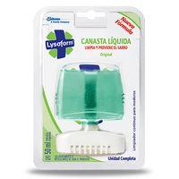 Canasta-Liquida-LYSOFORM-aparato-Verde-Claro