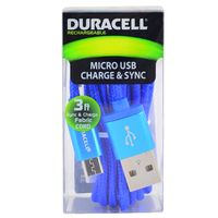 Cable-microusb-DURACELL-90-cm-azul-Mod.-LE2178