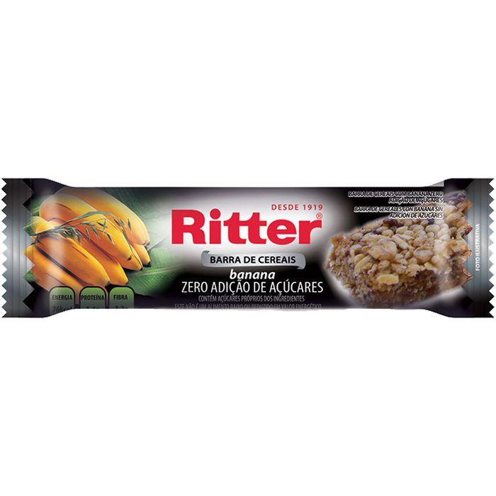 Barrita-Cereal-RITTER-Zero-sin-azucar-Banana-25-g