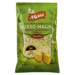Queso-Rallado-Hebras-Magro-sin-sal-MAIA-200-g