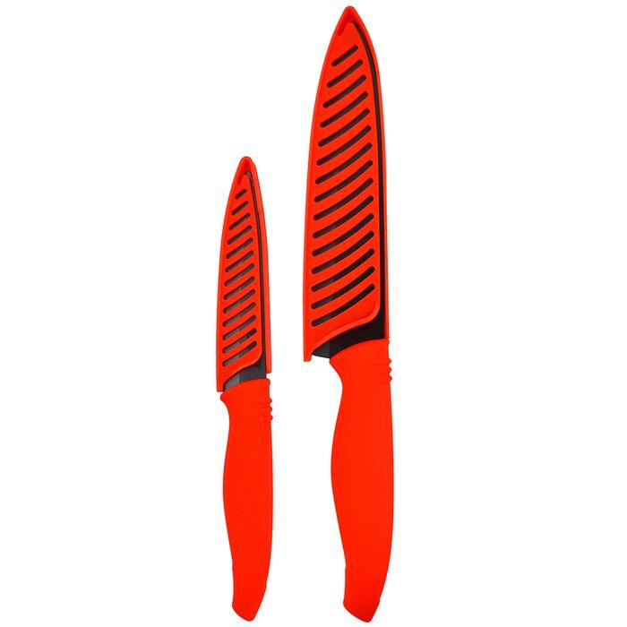 Set-2-cuchillos-10-y-15cm-hoja-negra-mango-rojo