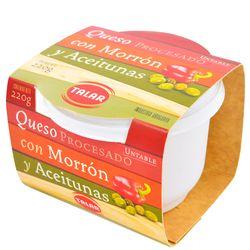 Queso-Crema-Aceitunas-y-Morron-TALAR-220-g
