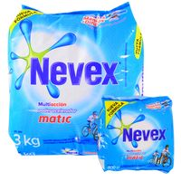 Pack-Detergente-Polvo-NEVEX-Matic-3-kg---400-g