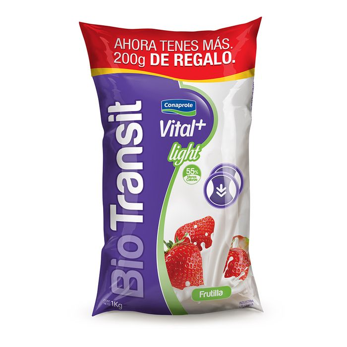 Yogur-Vital---Biotransit-Frutilla-Light-CONAPROLE-12-kg