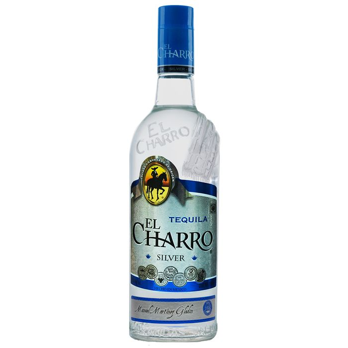 Tequila-EL-CHARRO-Silver-bt.-750-ml