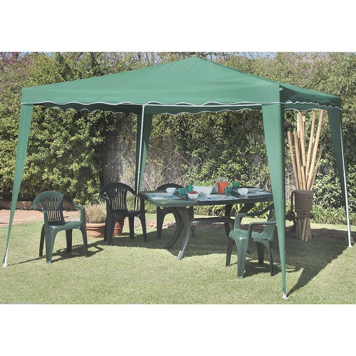 Gazebo-3x3m-polyester-color-verde