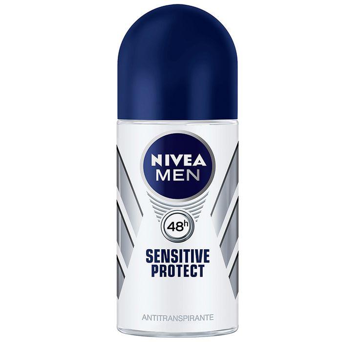 Desodorante-NIVEA-roll-on-sensitive-For-Men-50-ml
