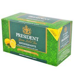 Te-PRESIDENT-Verde-con-Limon-25-Sobres