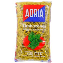 Fideo-Espinaca-ADRIA-Tirabuzon-500-g