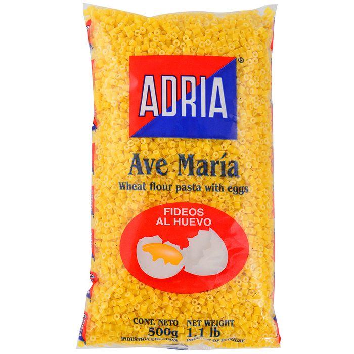 Fideo-al-huevo-ADRIA-Ave-Maria-500-g