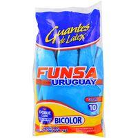 Guante-goma-FUNSA-Bicolor-talle-10