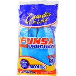 Guantes-de-Goma-FUNSA-Bicolor-N°9