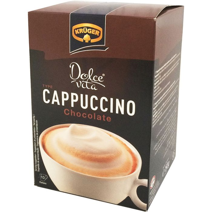 Cappuccino-KRUGER-Dolce-Vita-Chocolate-150-g