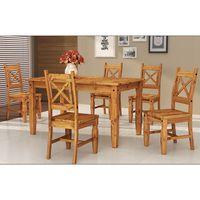 Juego-de-Mesa-y-6-sillas-en-pino-76x152x92-cm