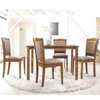 Juego-de-comedor-en-madera-mesa---4-sillas-110x70-cm