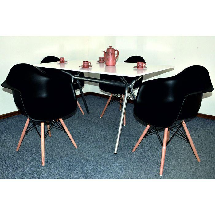 Juego-de-comedor-Mod.-Eames---6-butacas-75x140x80-cm