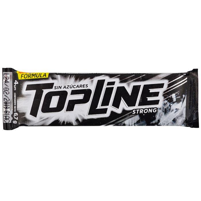 Chicle-sin-azucar-TOPLINE-Strong