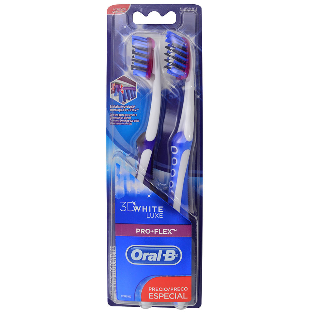 Cepillo Dental Oral-B P.Salud 3D White Pro Flex - geantfood 289d4cbdce37
