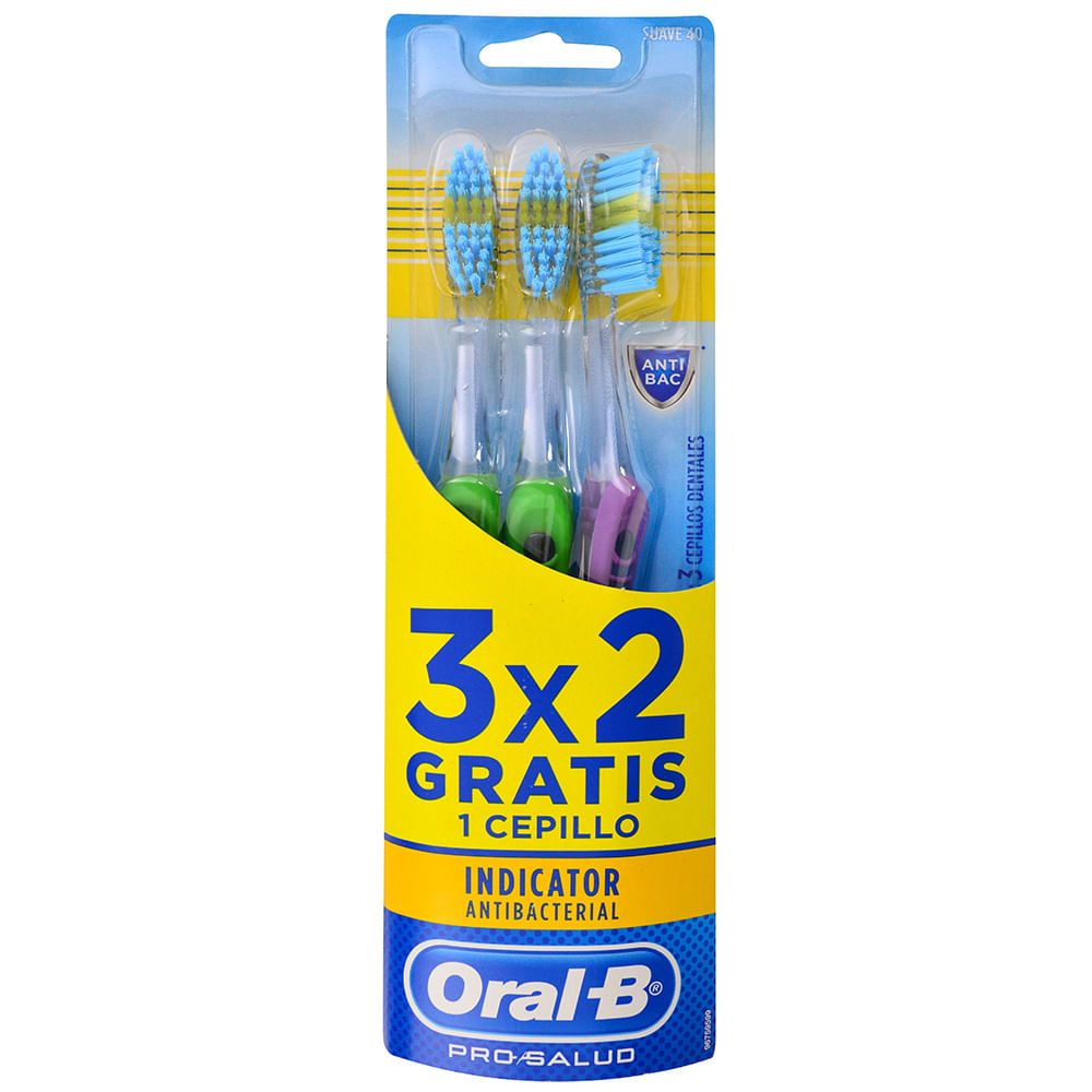 Cepillo Dental Oral-B Indic.Suave 40 3x2 - geantfood b4751bc6d8ab