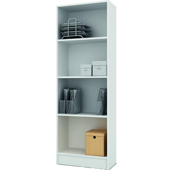 Biblioteca-clown-con-estantes-en-color-blanco-174x60x30cm