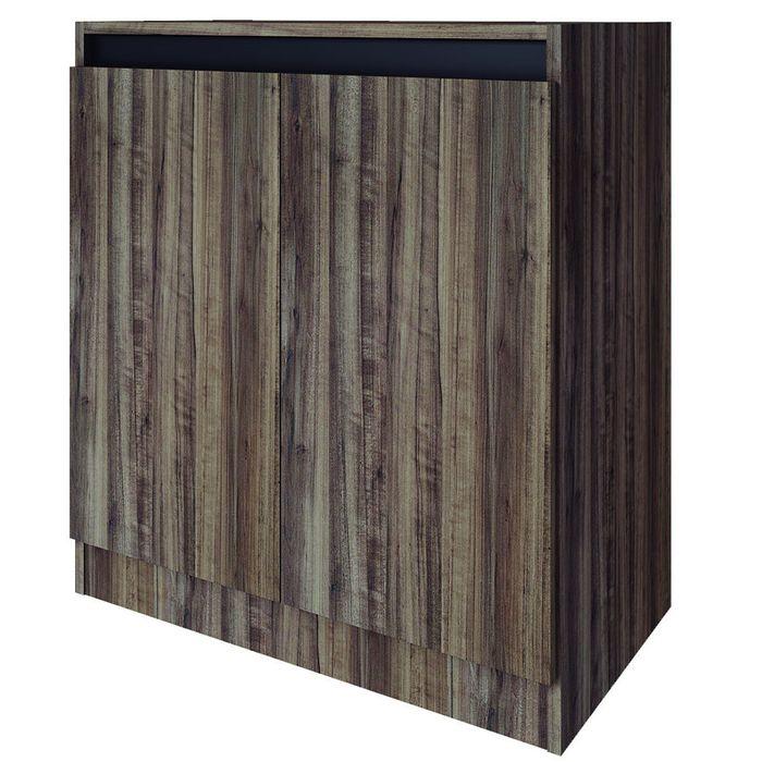 Armario-Mod.-Alabama-bajo-color-chocolate-y-negro-75x68x37-cm