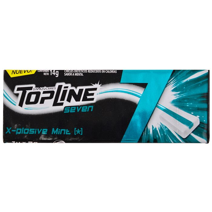 Chicle-TOPLINE-7-Explosive-Mint-14-g