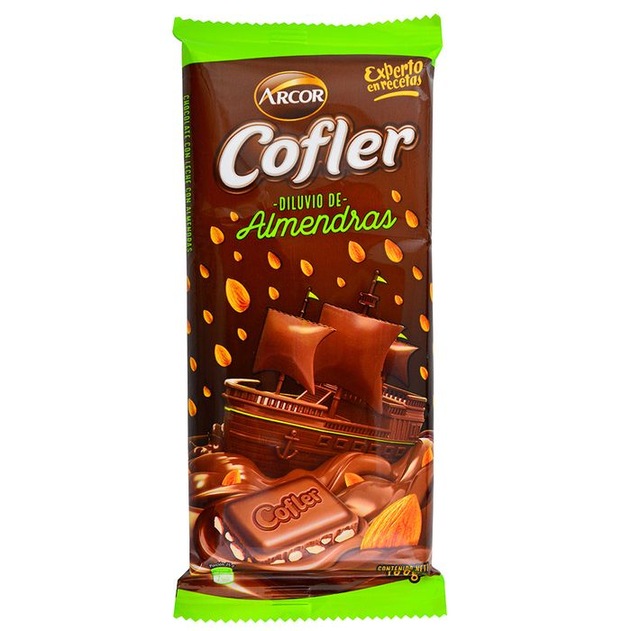 Chocolate-Cofler-ARCOR-Almendras-100-g