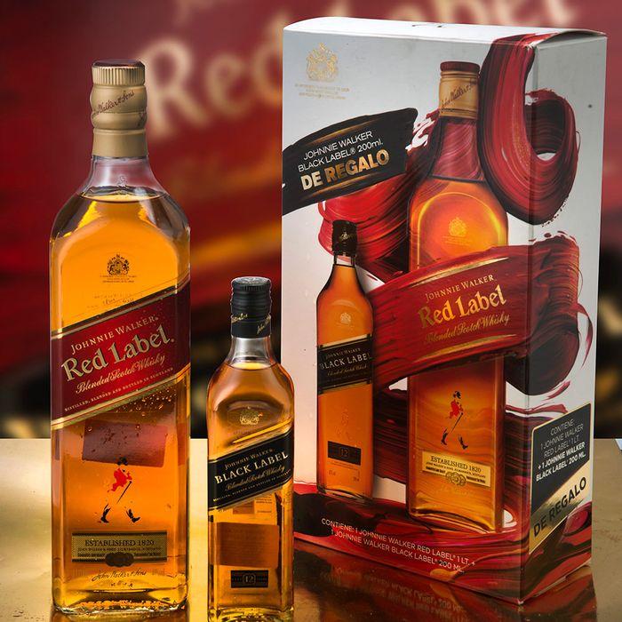 Whisky-Escoces-JOHNNIE-WALKER-rojo---negro-petaca-200ml