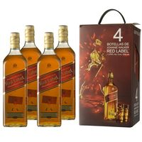 Whisky-Escoces-JOHNNIE-WALKER-rojo-pack-x-4