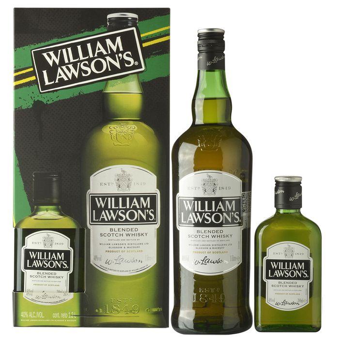 Whisky-Escoces-WILLIAM-LAWSONS--bt.-1L----petaca