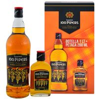 Whisky-Escoces-100-PIPERS---petaca