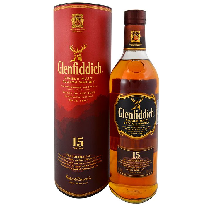Whisky-Escoces-GLENFIDDICH-15-años-bt-.700L