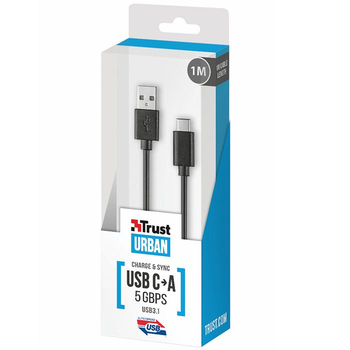 Cable-TRUST-21175-usb-c-a-usb-1m
