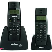 Telefono-Inalambrico-INTELBRAS-Mod.-TS40C-id-doble-base