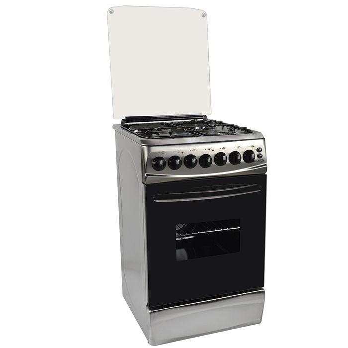 Cocina-DELNE-Mod.TE5631-I-acero-inoxidable-con-horno-electrico