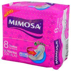 Toalla-femenina-MIMOSA-ultra-con-alas-8-un.